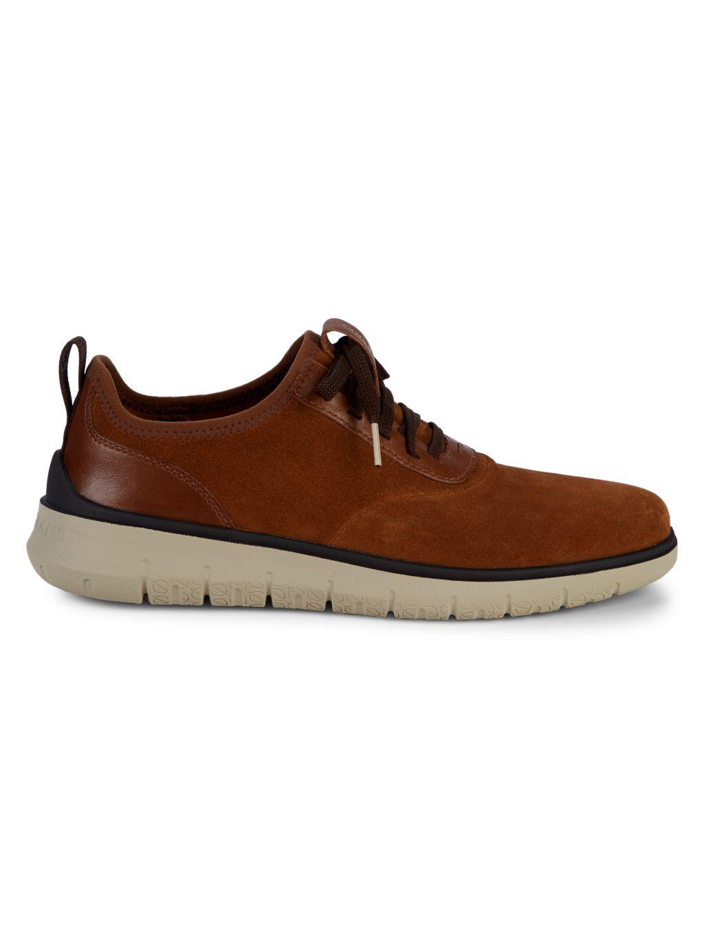 Cole Haan Generation Zero Grand Suede Sneakers