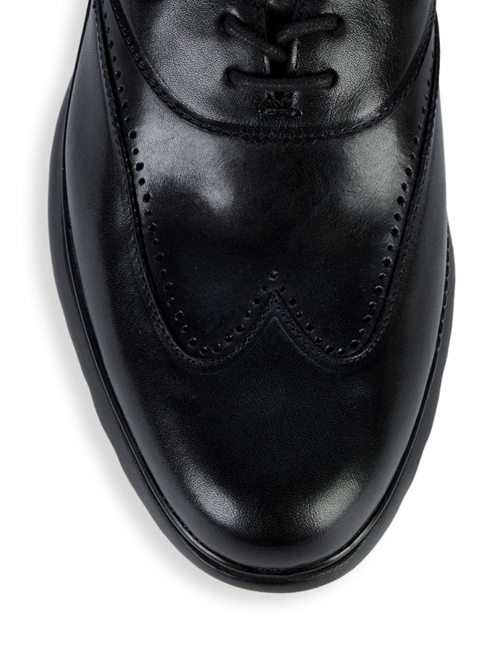 Cole Haan Zerogrand Leather Wingtip Oxford Runners