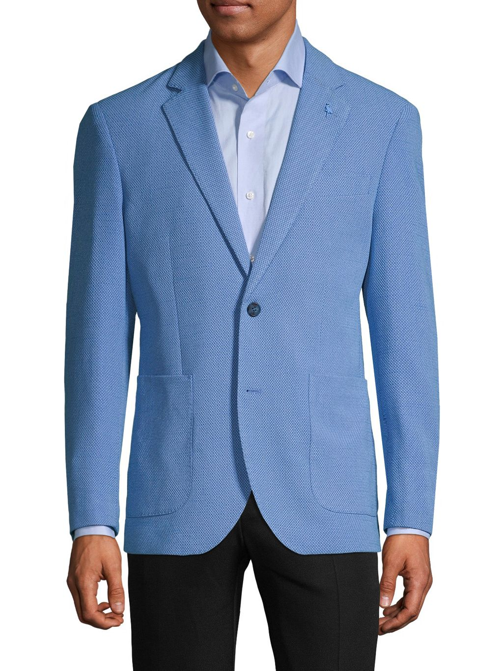 TailorByrd Standard-Fit Textured Sportcoat