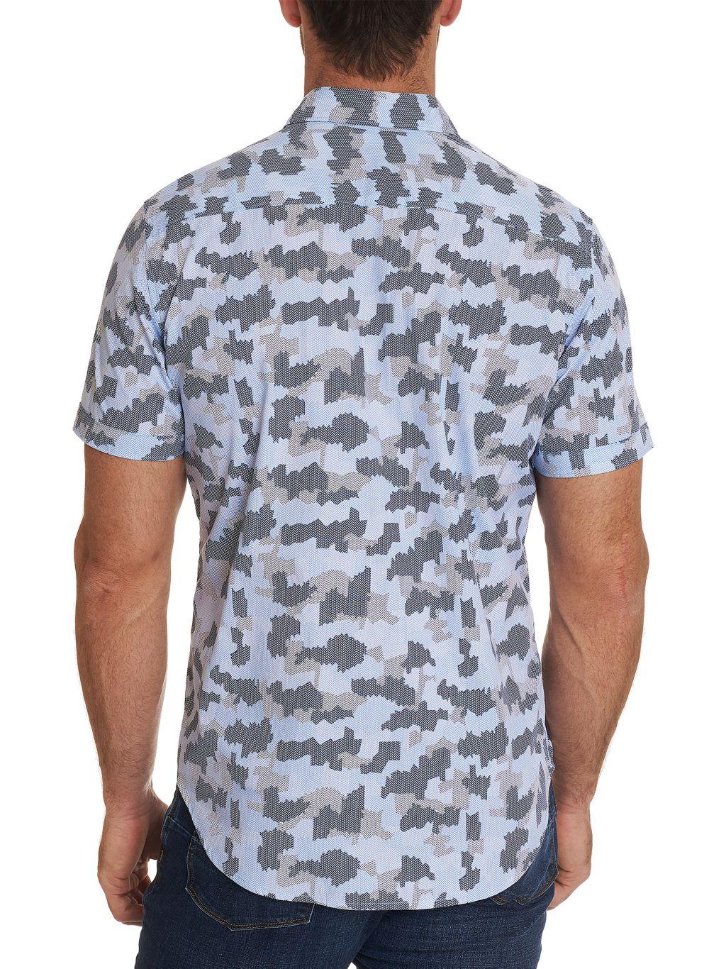 Robert Graham Abstract Short-Sleeve Shirt
