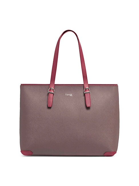 Lipault VARIATION FAUX LEATHER SHOPPER