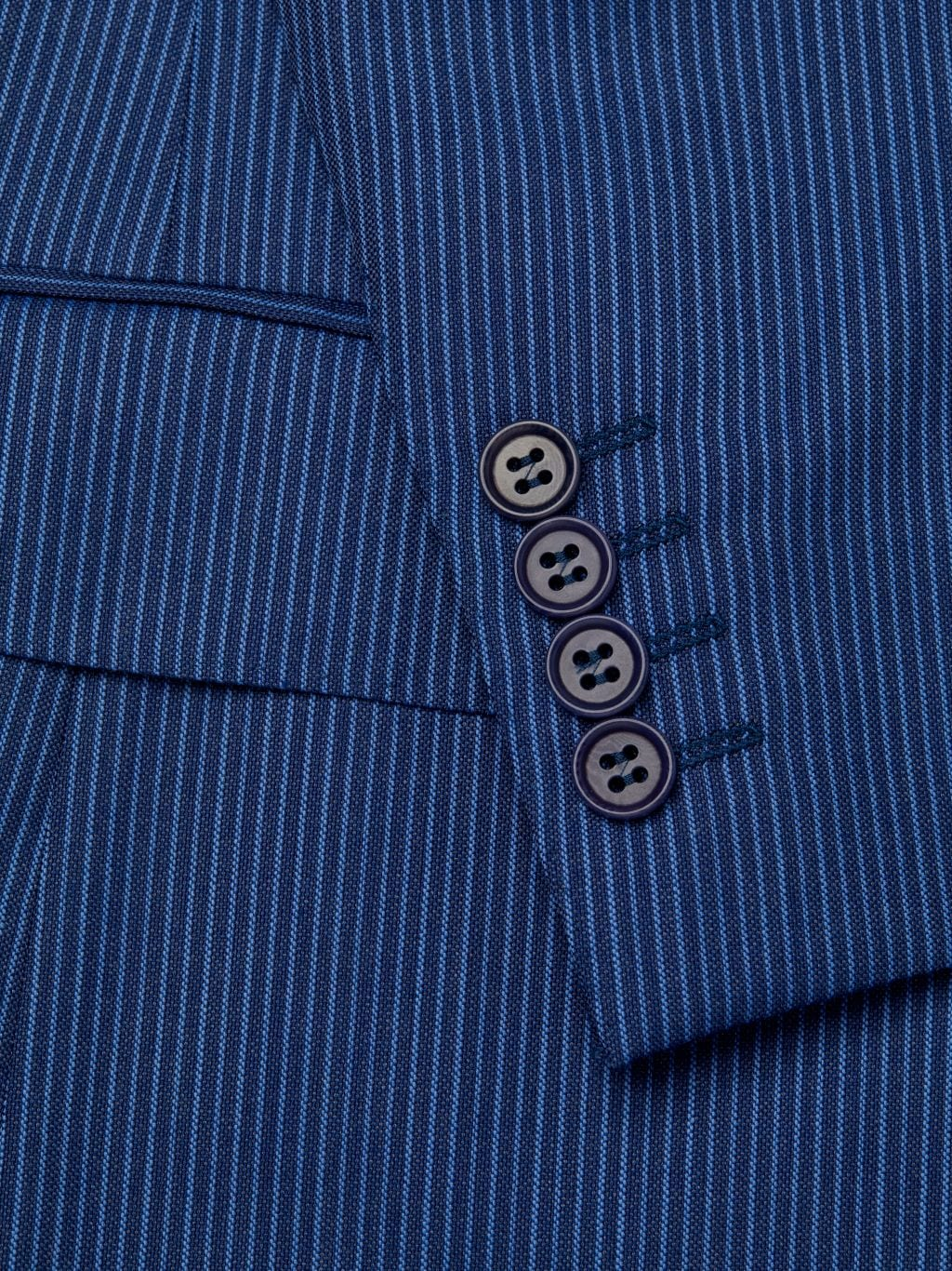 Canali Standard-Fit Tonal Stripe Wool Suit