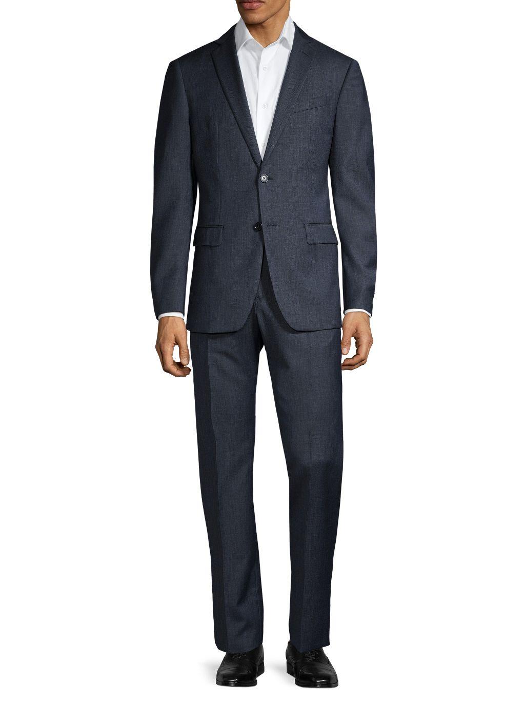 John Varvatos Star U.S.A. Standard-Fit Wool Suit