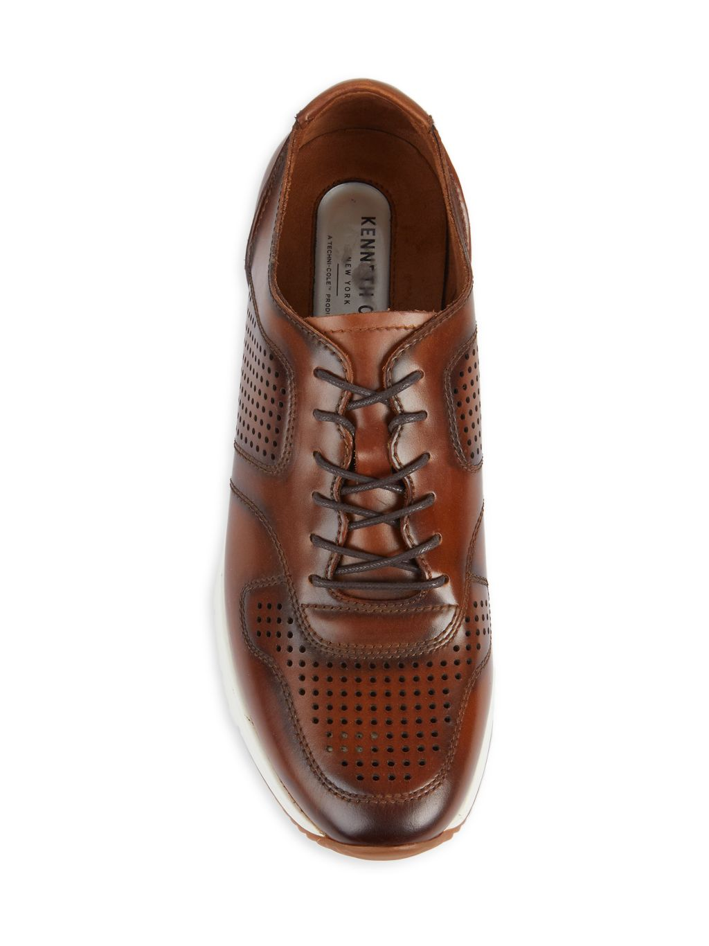 Kenneth Cole Bailey Leather Jogger Sneakers