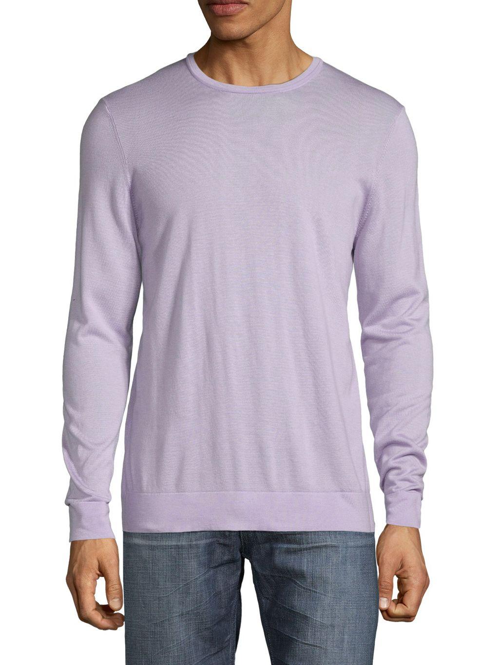 Saks Fifth Avenue Double-Neck Long-Sleeve T-Shirt