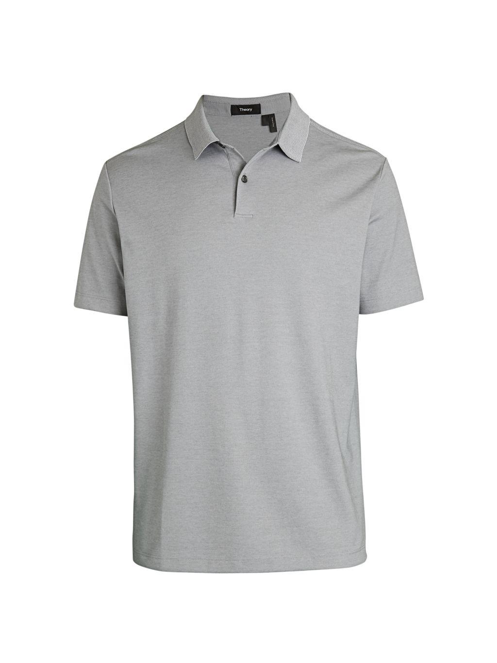 Theory Henley Polo T-Shirt