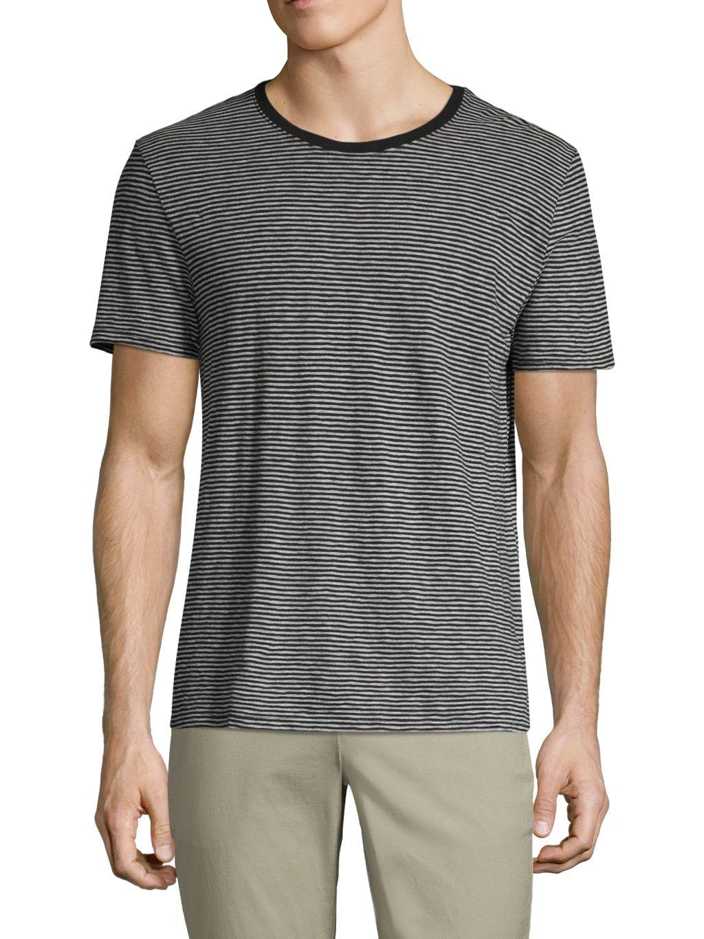ATM Anthony Thomas Melillo Striped Ringer T-Shirt