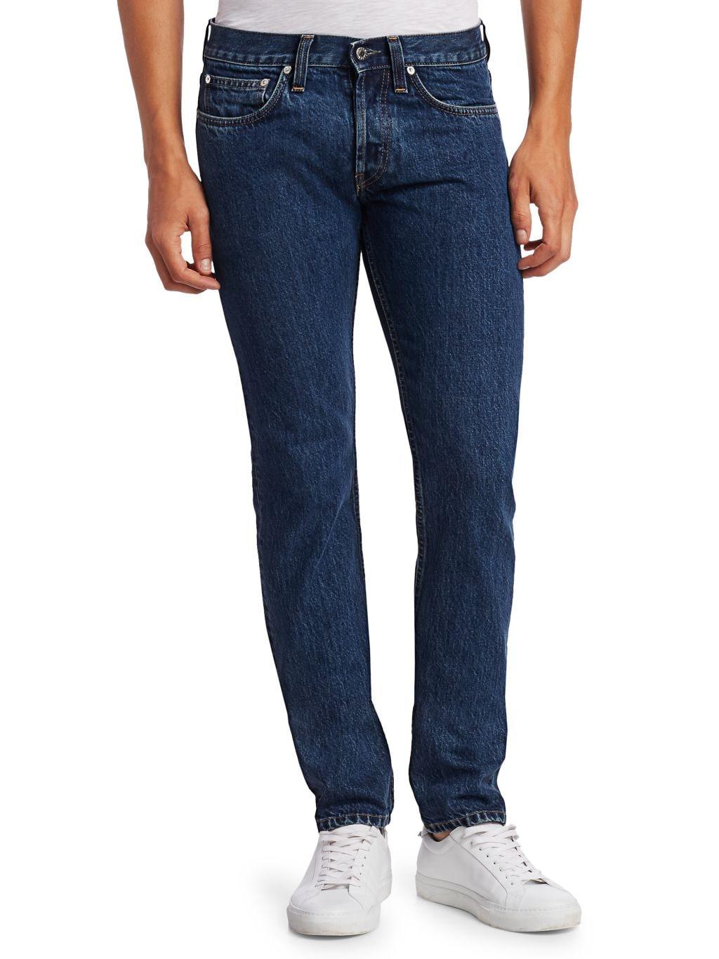 Helmut Lang Low-Rise Drainpipe Jeans