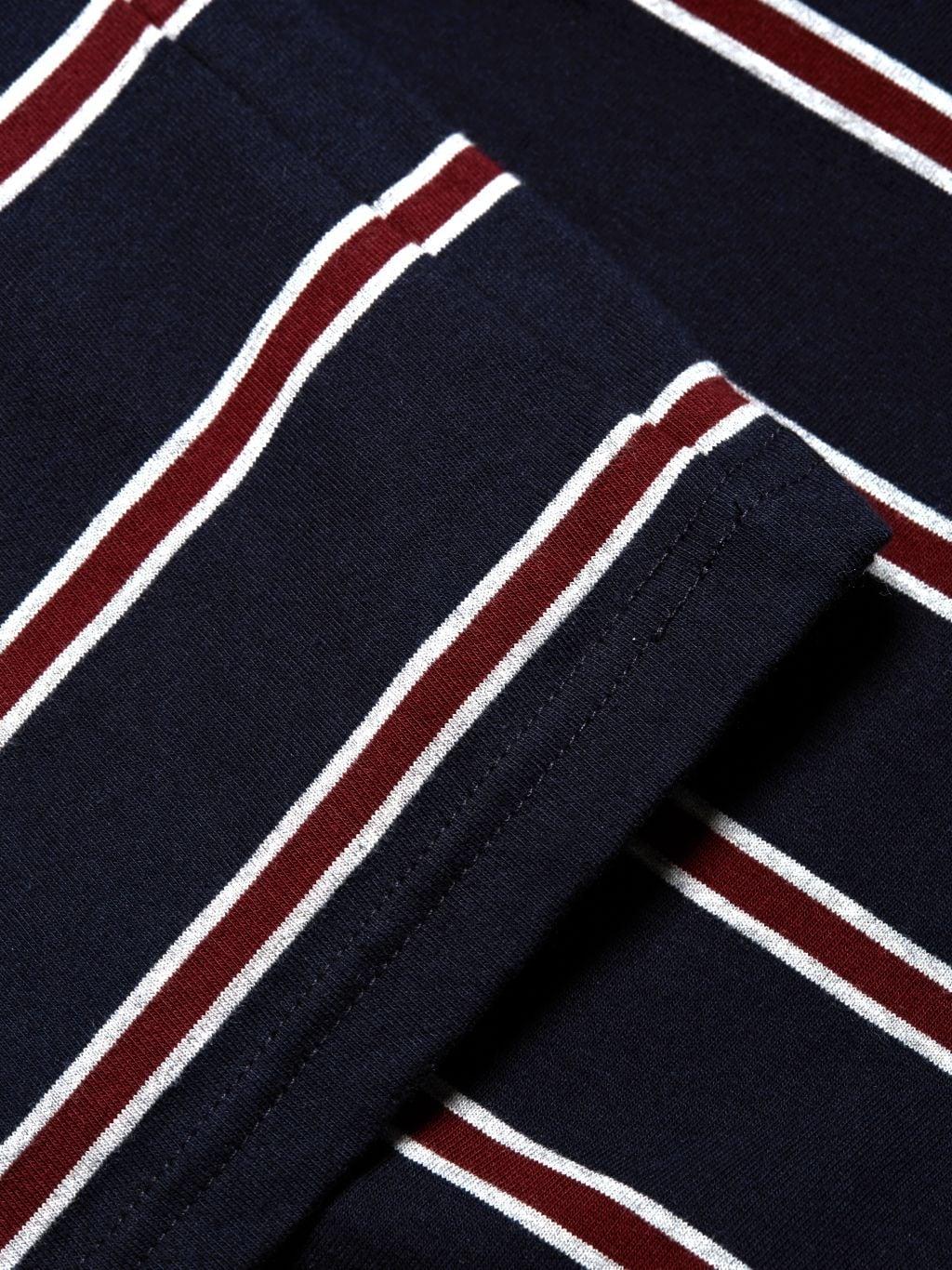 Nominee Striped Cotton Tee