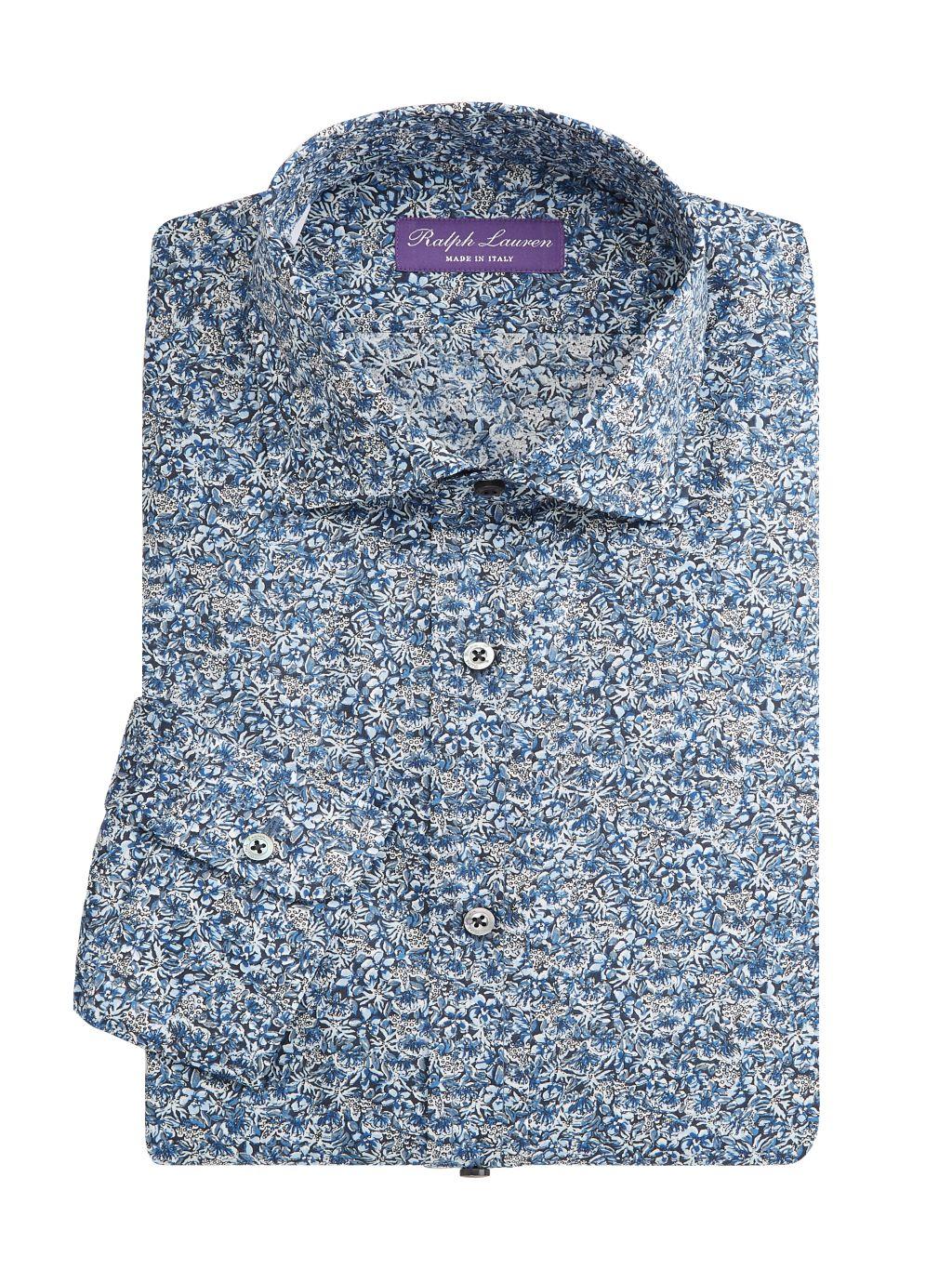 Ralph Lauren Aston NK Slim-Fit Floral Sportshirt