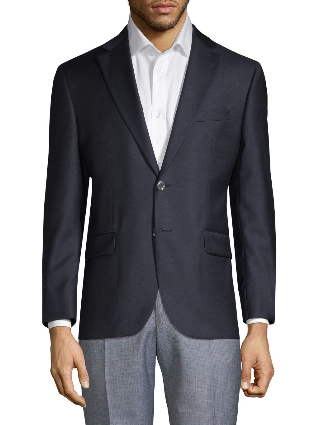 Saks Fifth Avenue Made in Italy Wool Blazer