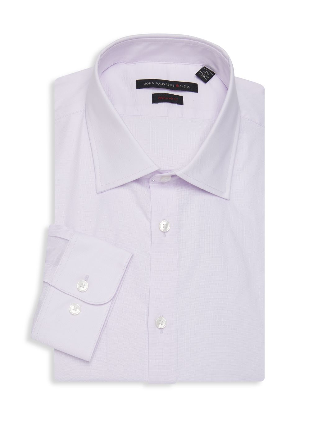 John Varvatos Star U.S.A. Regular-Fit Textured Dress Shirt