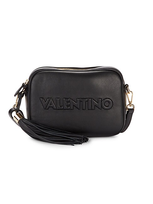 VALENTINO BY MARIO VALENTINO MINI MIA LEATHER CROSSBODY BAG