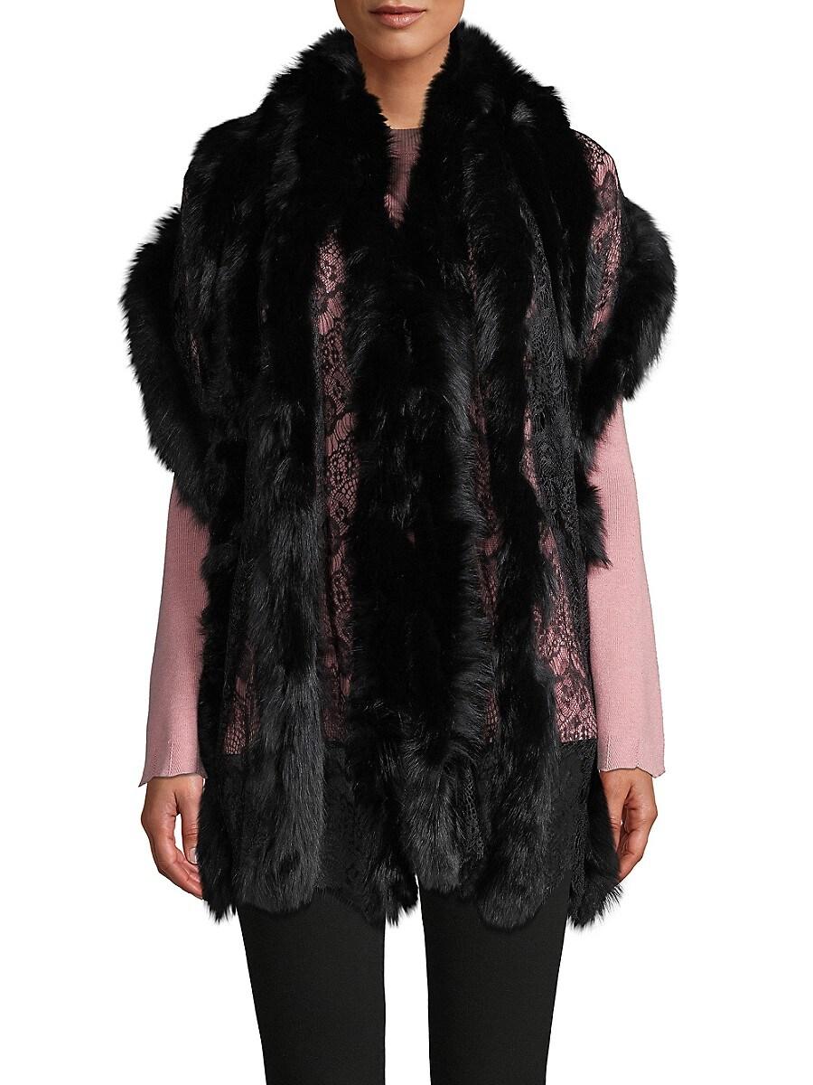 Women's Fox Fur Wrap