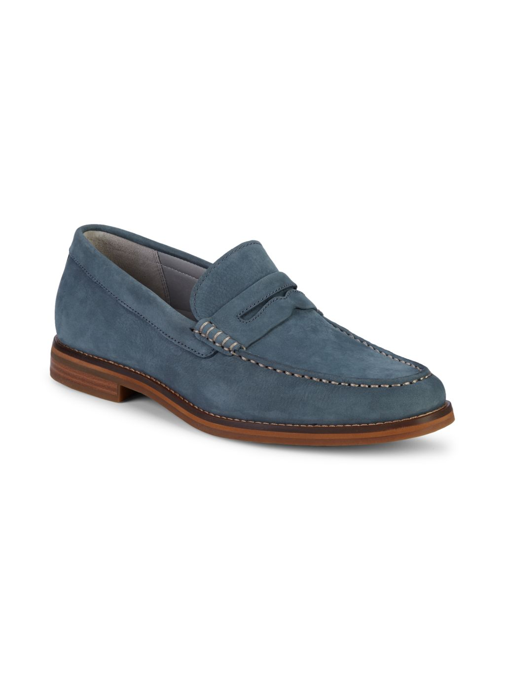 Sperry Gold Cup Exeter Suede Tassel Penny Loafers