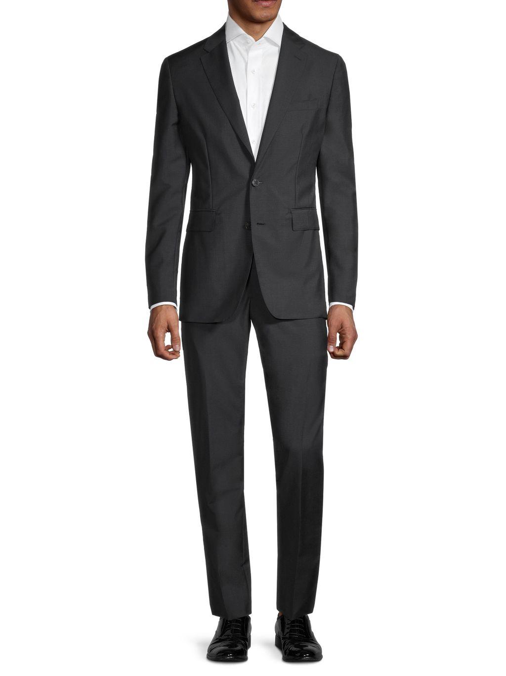 Burberry 2-Piece Standard Soho Wool & Mohair Slim-Fit Suit