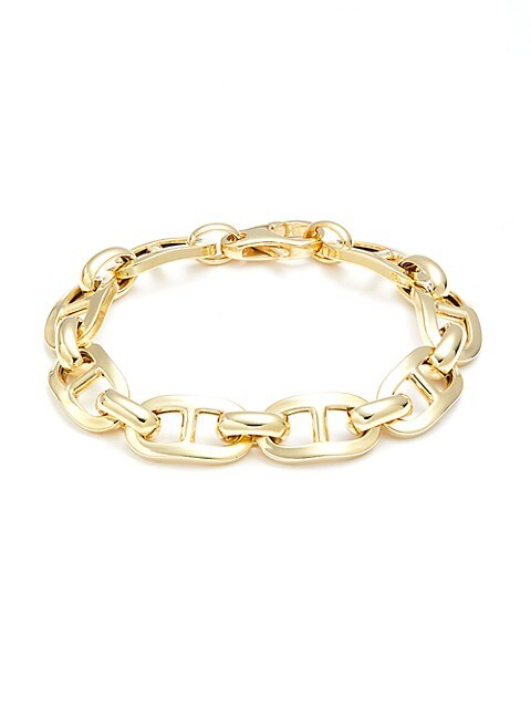 SPHERA MILANO Goldplated Silver Link Bracelet