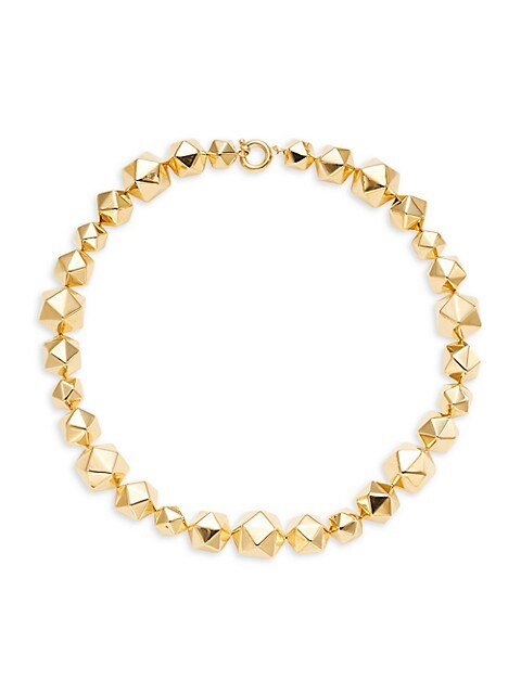 SPHERA MILANO Goldplated Sterling Silver Geometric Necklace
