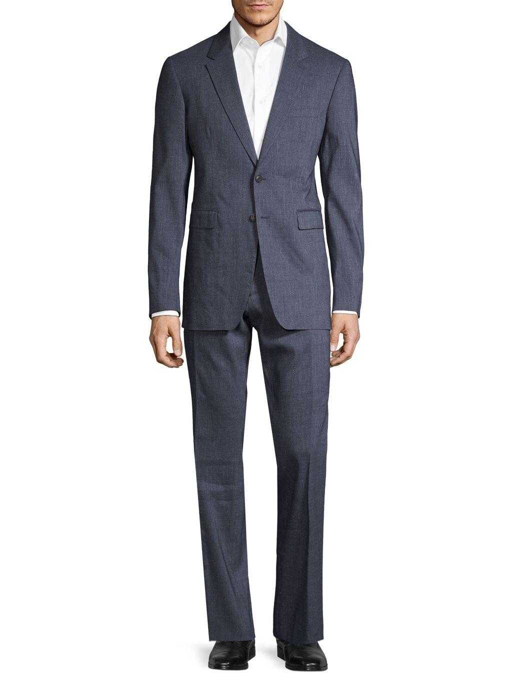 Burberry Modern-Fit Notch Lapel Suit