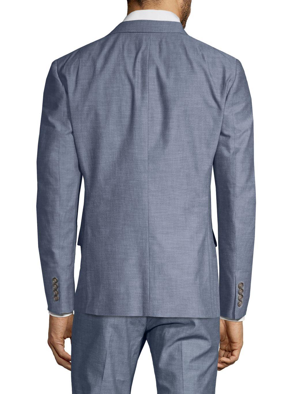 Bonobos Foundation Slim-Fit Chambray Jacket