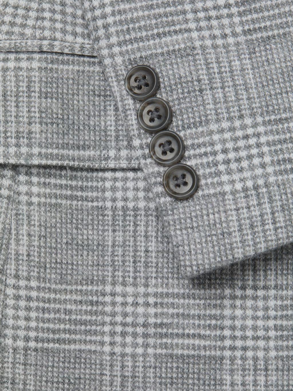 Bonobos Emmetex Knit Plaid Wool Jacket