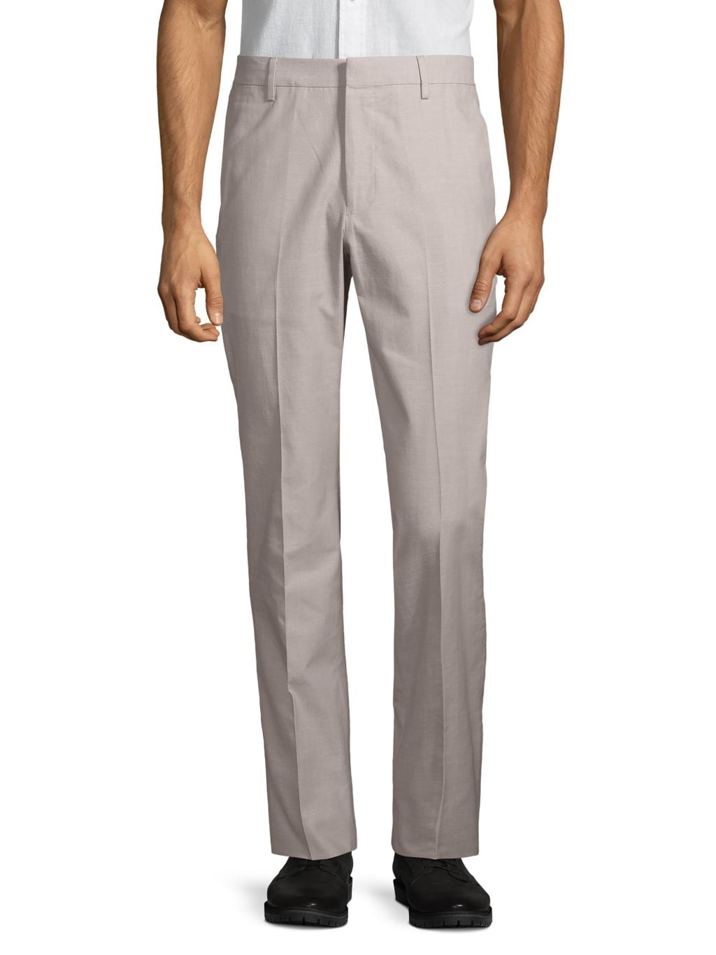 Bonobos Foundation Slim-Fit Chambray Trousers