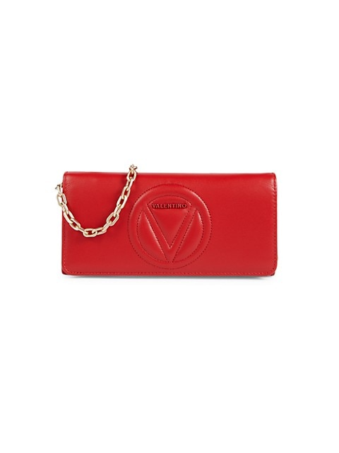 Valentino Ajah Leather Chain Wallet $149.99 (57% OFF)