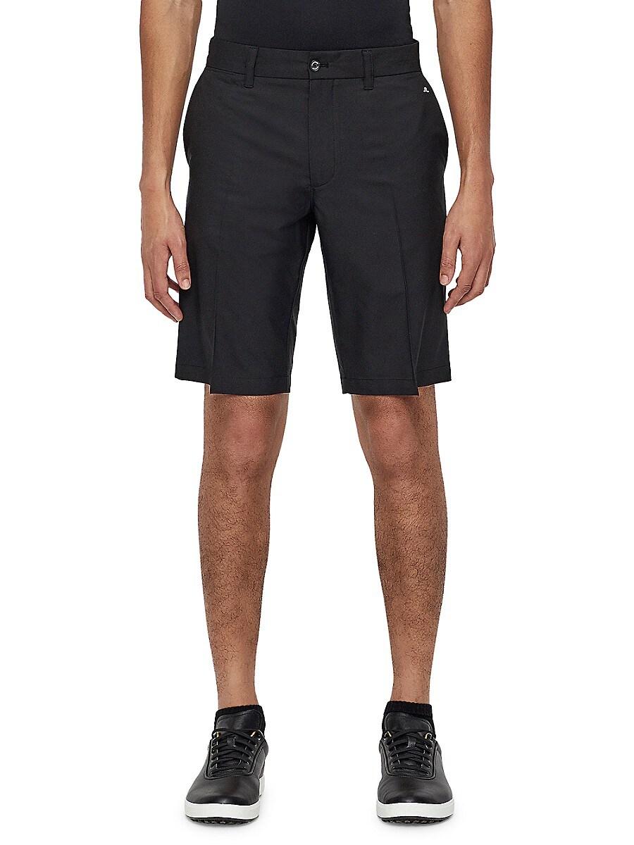 J. Lindeberg Men's Solid Golf Shorts