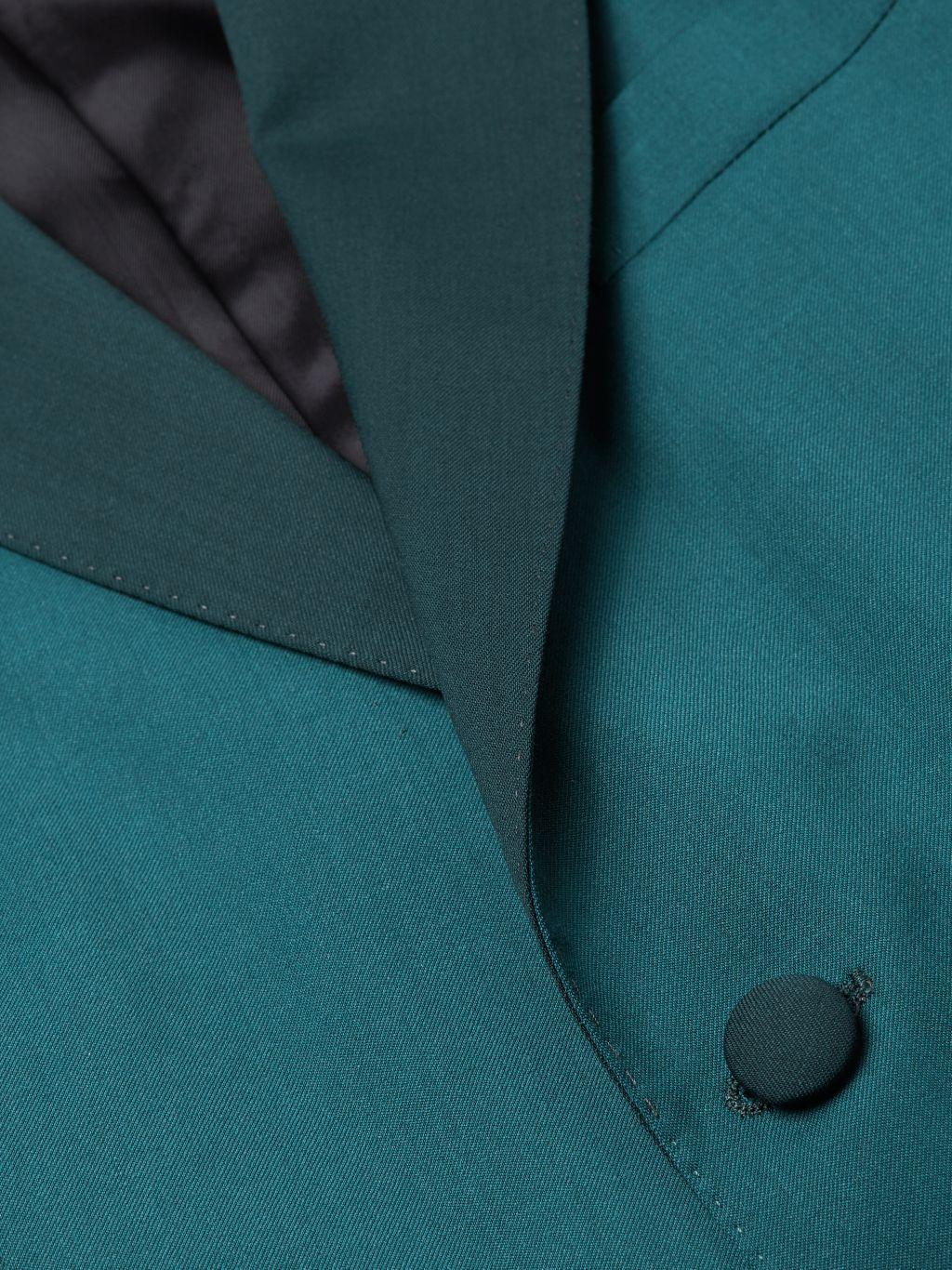 Boglioli Lapel Virgin Wool Single-Breasted Blazer