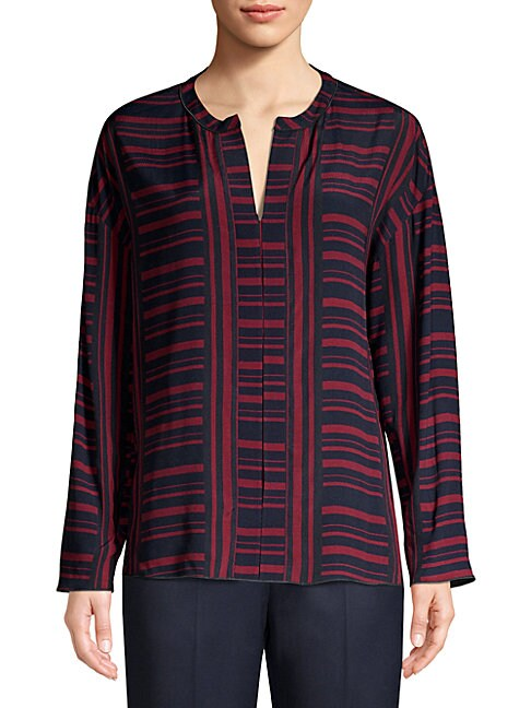 Piazza Sempione Striped Tunic