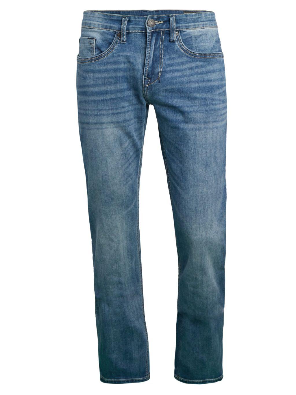 BUFFALO David Bitton Six-X Straight Stretch Jeans