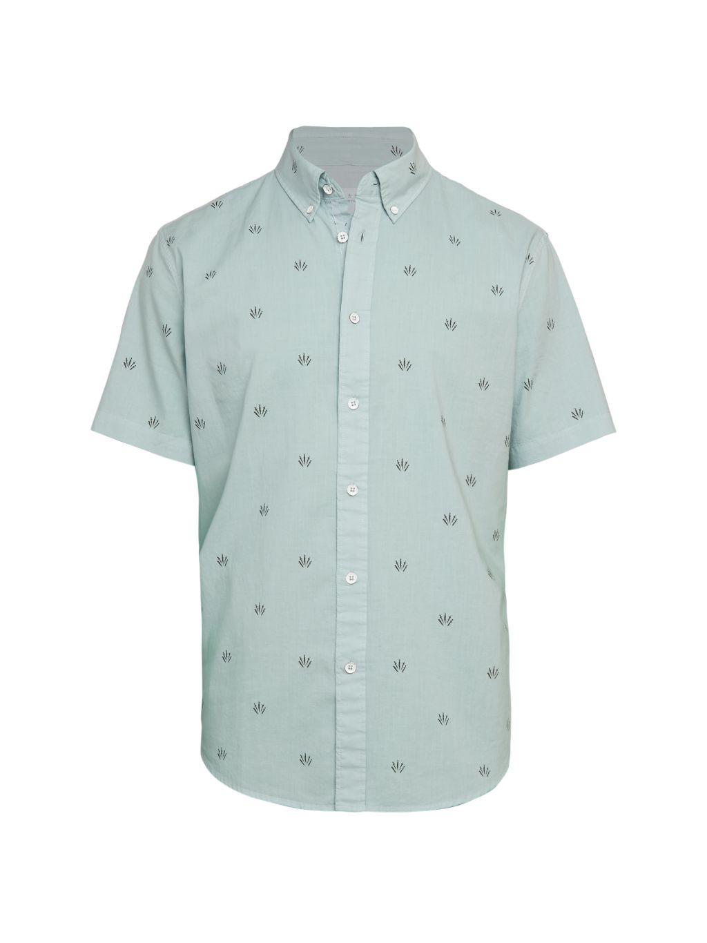 Rag & Bone Fit 2 Tomlin Print Shirt