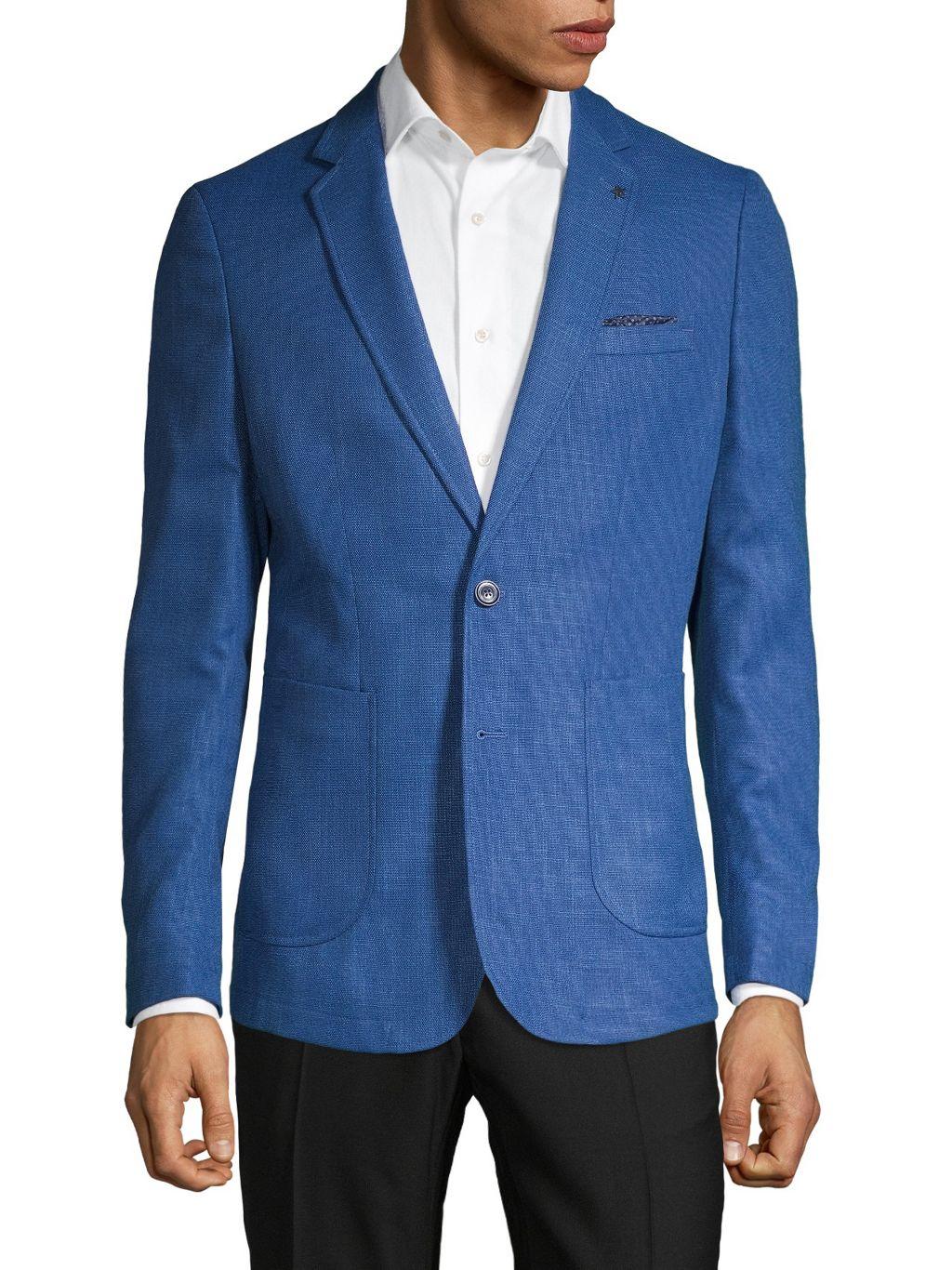 NHP Extra Slim-Fit Textured Jacket