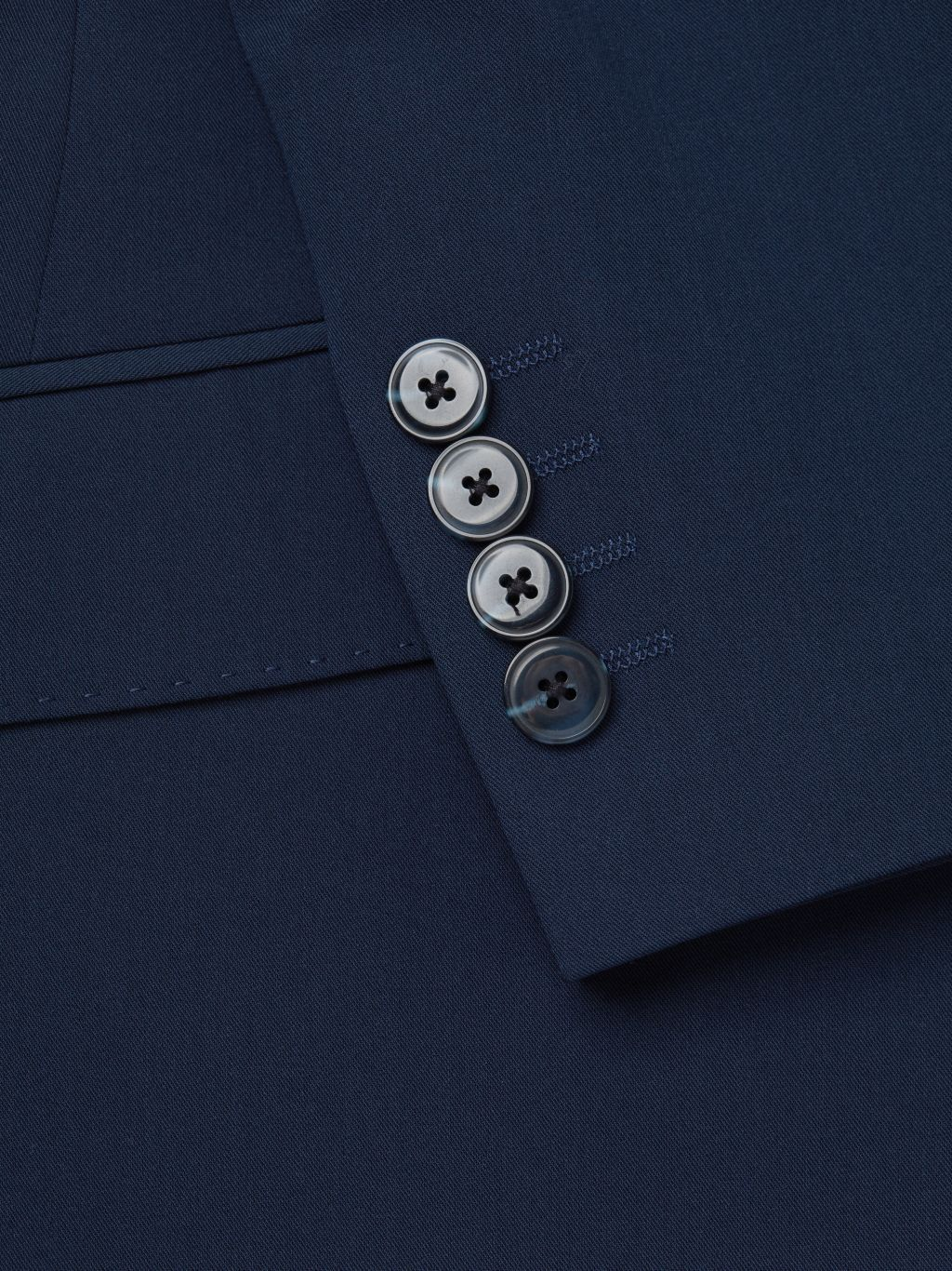NHP Extra Slim-Fit Solid Suit Jacket