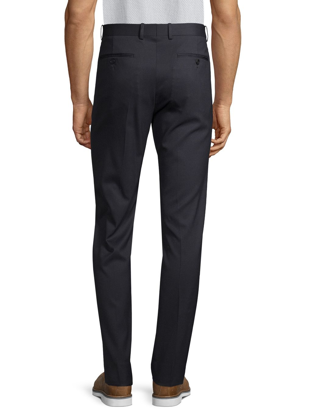 Theory Mayer Traceable Stretch Wool Pants