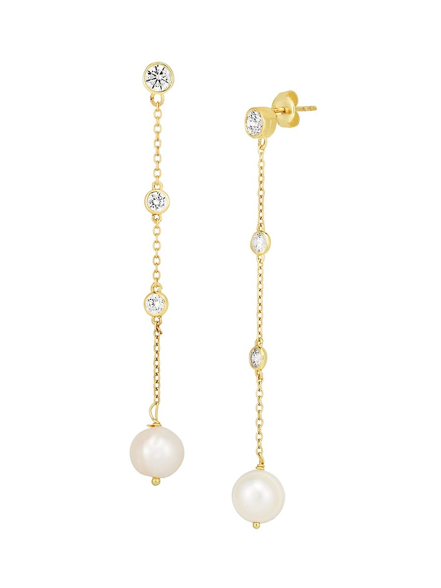 Women's 18K Yellow Goldplated Sterling Silver