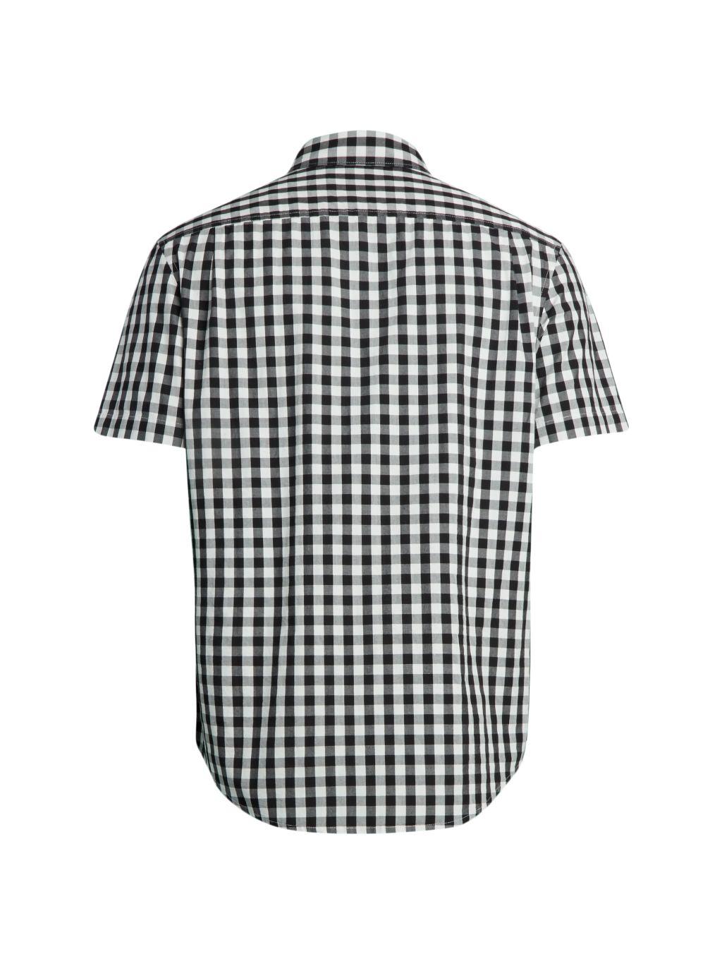 Original Penguin Slim-Fit Bufalo Check Short-Sleeve Shirt