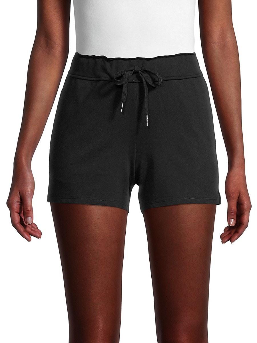 Women's Solid Drawstring Shorts
