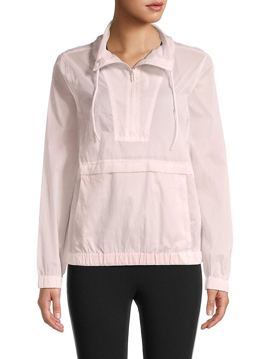 Women's Popover Windbreaker Jacket