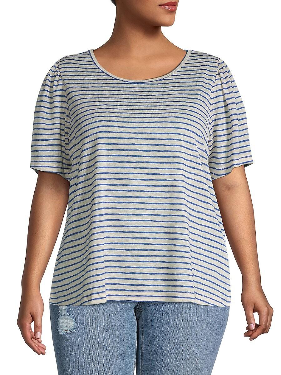 Women's Plus Tilda Puff-Sleeve T-Shirt