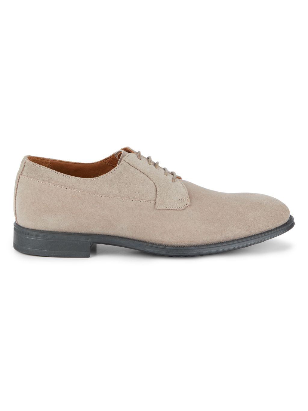 Aquatalia Decker Suede Derby Shoes