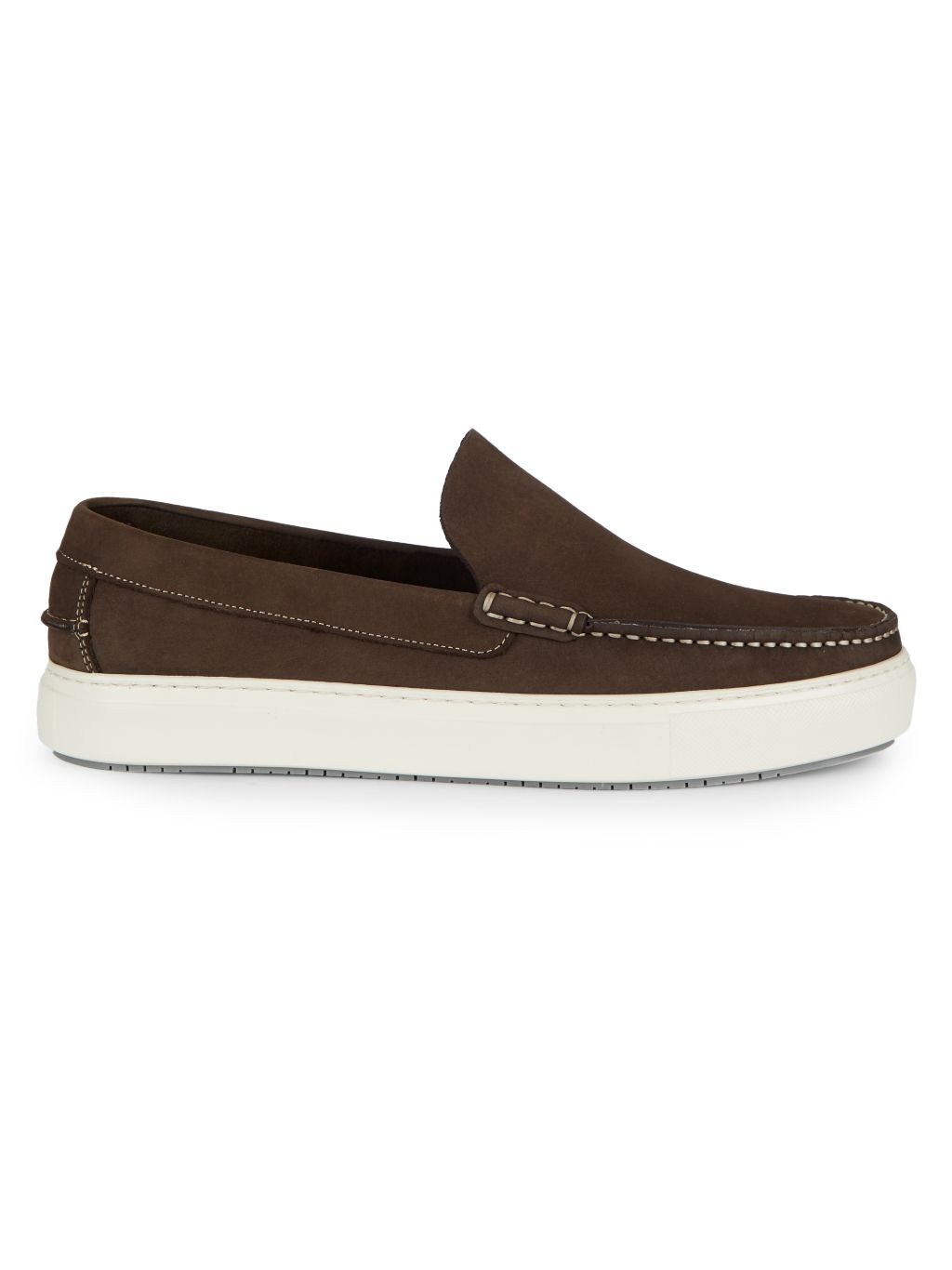 Aquatalia Sergio Weatherproof Suede Slip-On Sneakers