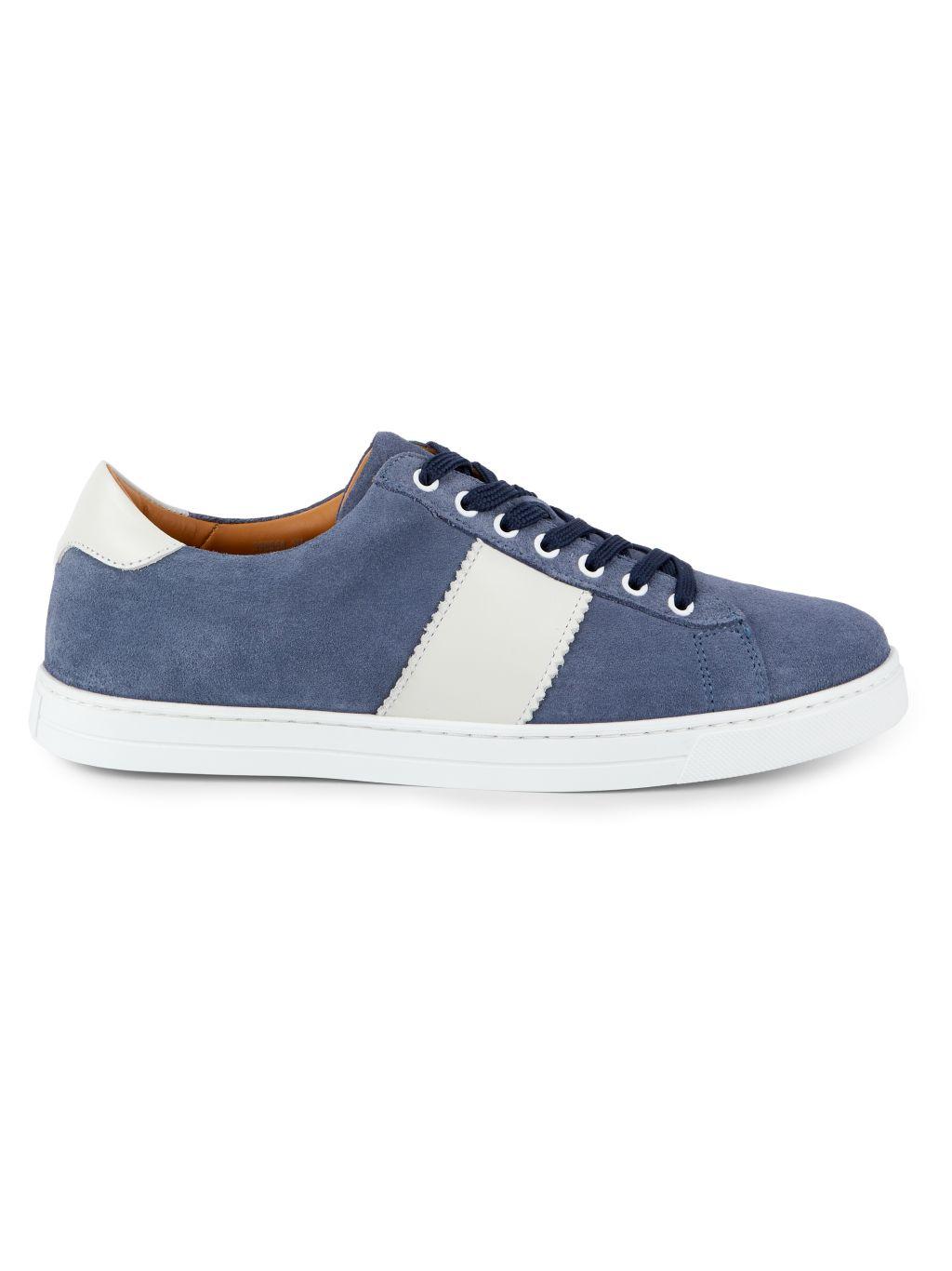 Aquatalia Joshua Suede Sneakers