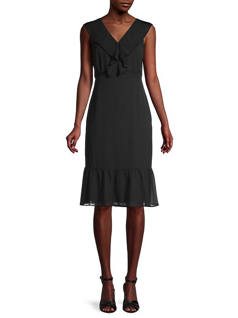 Sam Edelman SLEEVELESS A-LINE DRESS