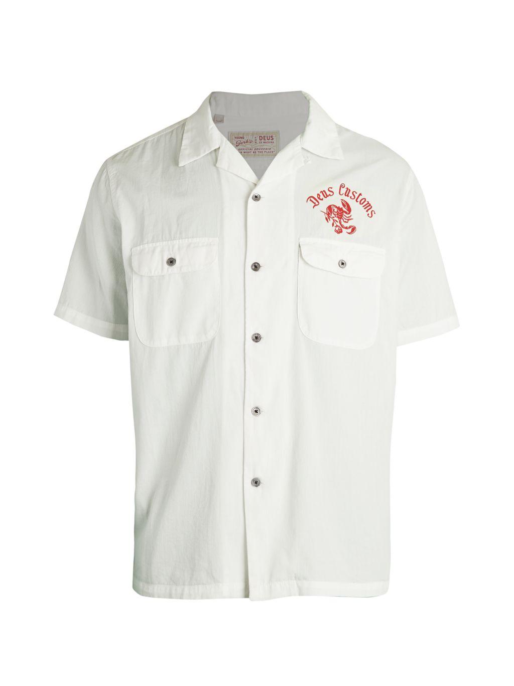 Deus Ex Machina Deux Ex Machina x Young Jerks Smile Back Cotton Shirt