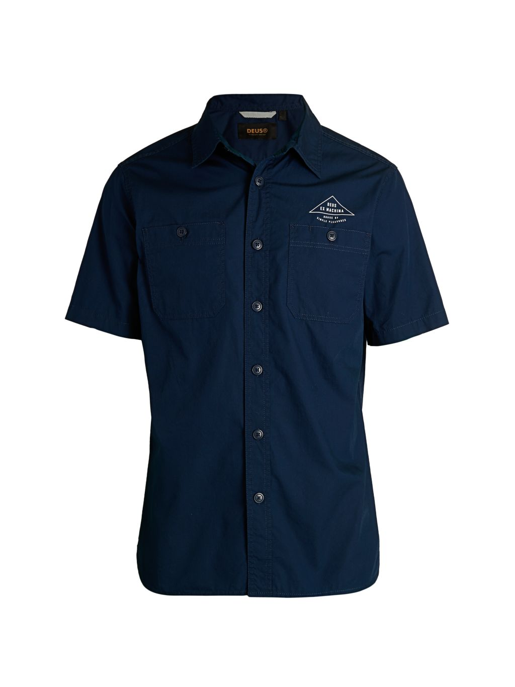 Deus Ex Machina Cotton Poplin Service Shirt
