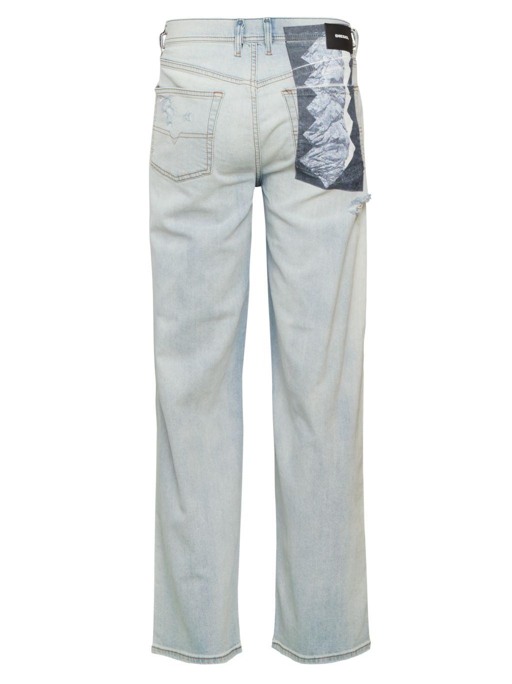 Diesel Dagh Ripped Jeans