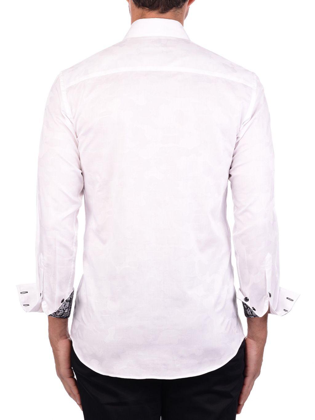 Bertigo Graphic-Cuff Shirt