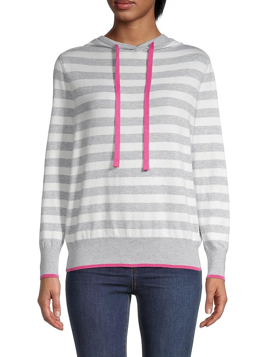 Women's Stripe Hoodie