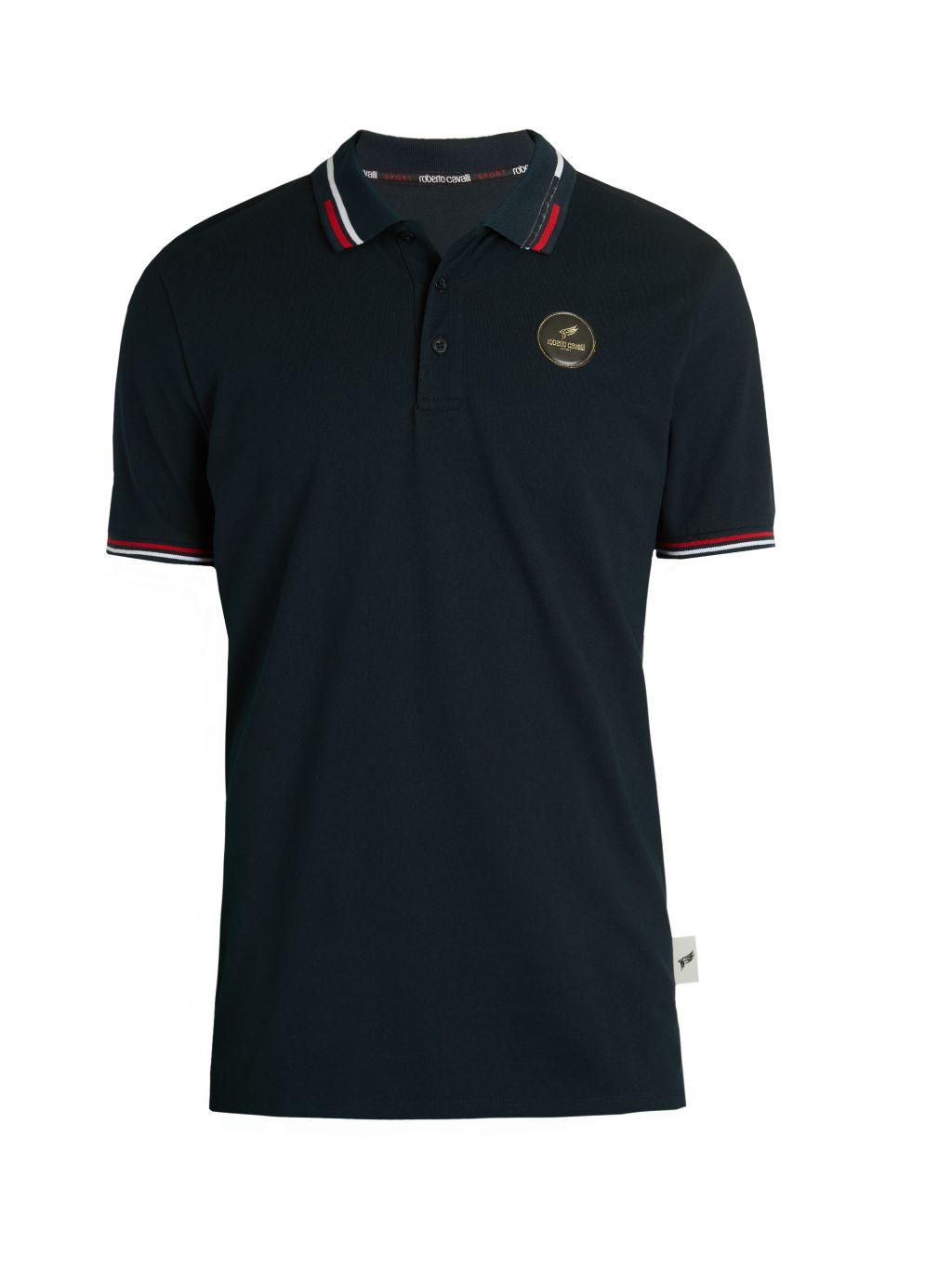 Roberto cavalli SPORT Piqué Polo Shirt